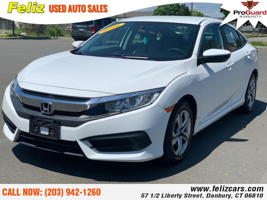 Used 2016 Honda Civic Sedan in Danbury, Connecticut | Feliz Used Auto Sales. Danbury, Connecticut