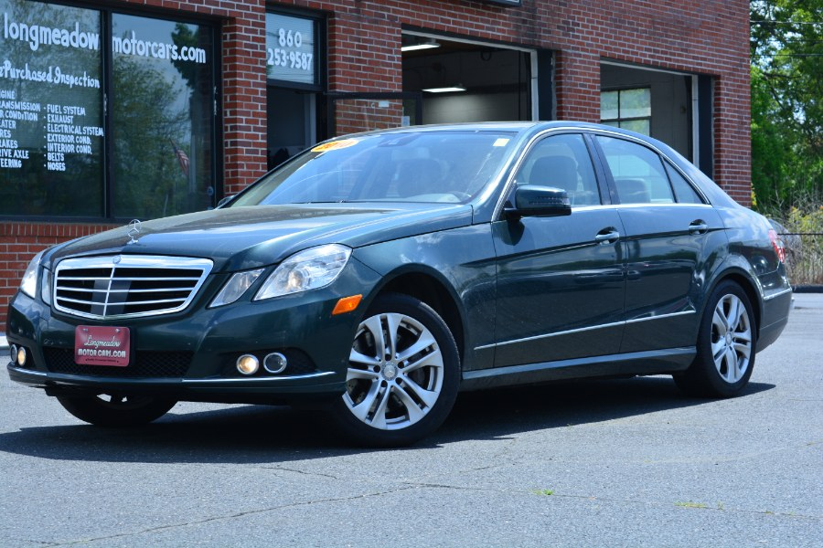 Used 2010 Mercedes-Benz E-Class in ENFIELD, Connecticut | Longmeadow Motor Cars. ENFIELD, Connecticut