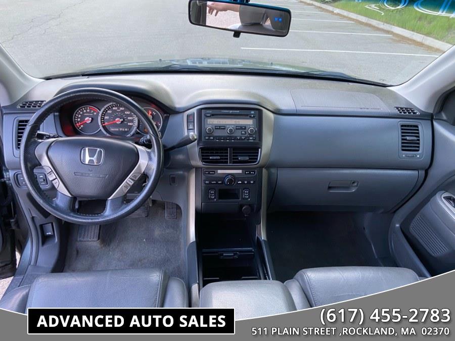Used Honda Pilot 4WD 4dr EX-L 2007   Advanced Auto Sales. Rockland, Massachusetts
