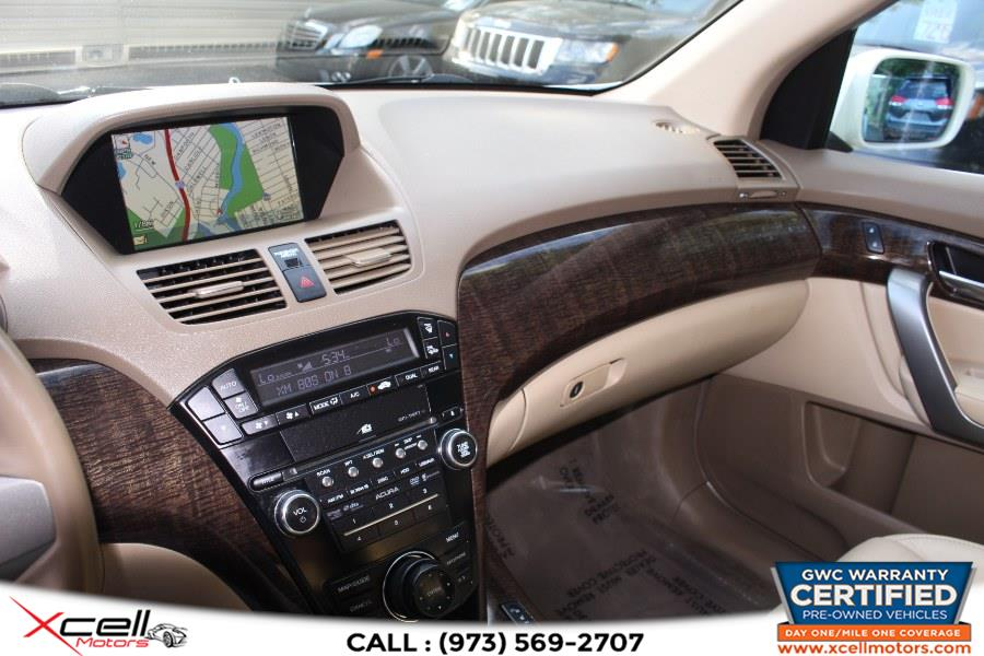 Used Acura MDX Tech Pkg AWD 4dr Tech Pkg 2010   Xcell Motors LLC. Paterson, New Jersey