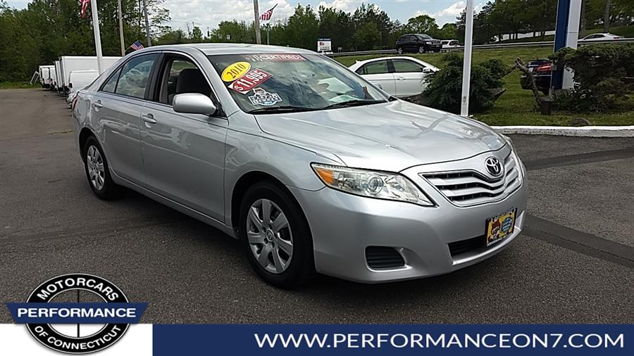 Used Toyota Camry 4dr Sdn I4 Auto LE 2010   Performance Motor Cars Of Connecticut LLC  . Wilton, Connecticut