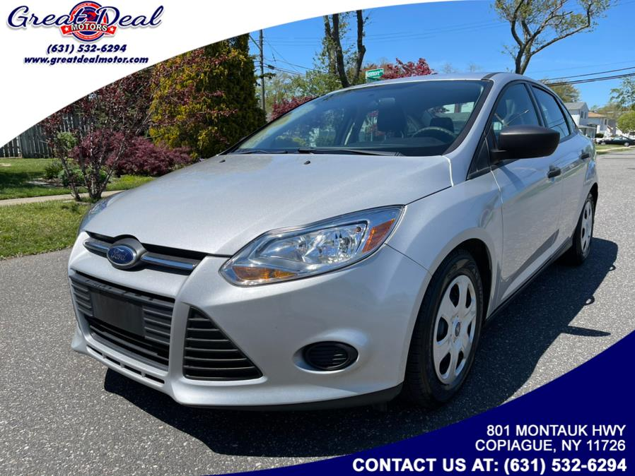 Used Ford Focus 4dr Sdn S 2013 | Great Deal Motors. Copiague, New York
