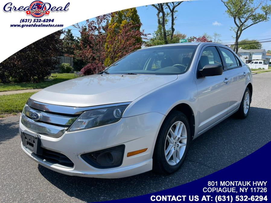 Used Ford Fusion 4dr Sdn S FWD 2012 | Great Deal Motors. Copiague, New York