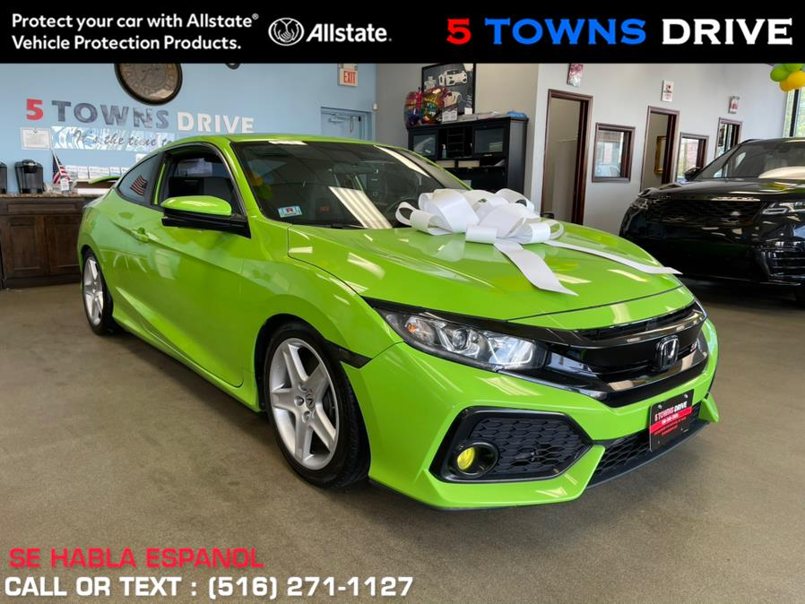 Used Honda Civic Coupe Si Manual 2017 | 5 Towns Drive. Inwood, New York