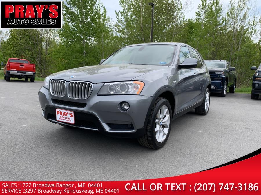 Used BMW X3 AWD 4dr 35i 2012 | Pray's Auto Sales . Bangor , Maine