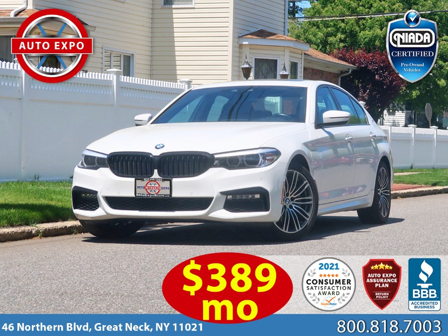 Used BMW 5 Series 530e xDrive iPerformance M Sport Package 2 2018 | Auto Expo Ent Inc.. Great Neck, New York