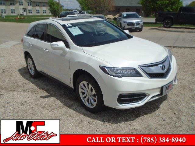 Used 2018 Acura RDX in Colby, Kansas | M C Auto Outlet Inc. Colby, Kansas