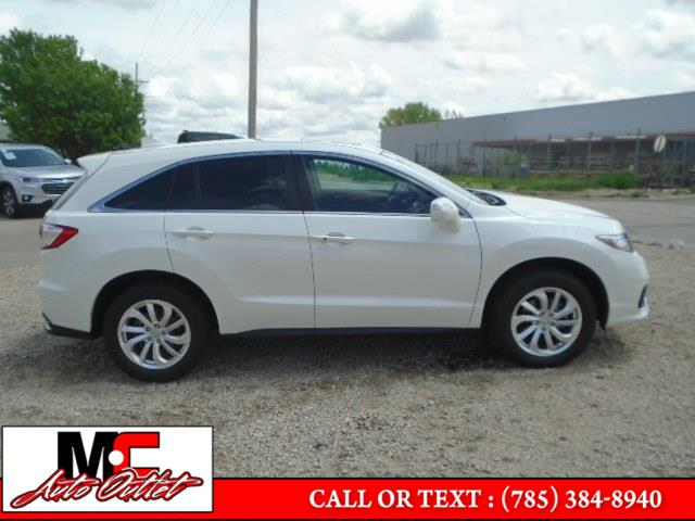 Used Acura RDX AWD w/Technology Pkg 2018   M C Auto Outlet Inc. Colby, Kansas