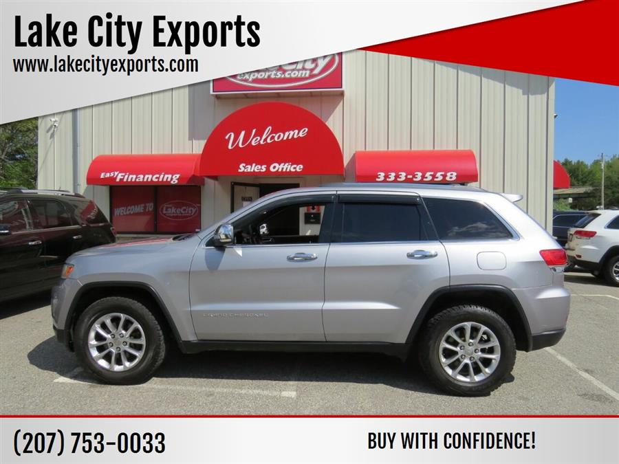 Used Jeep Grand Cherokee Limited 4x4 4dr SUV 2014   Lake City Exports Inc. Auburn, Maine