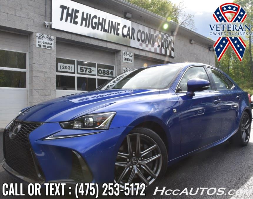 Used Lexus IS IS 300 F Sport AWD 2017 | Highline Car Connection. Waterbury, Connecticut