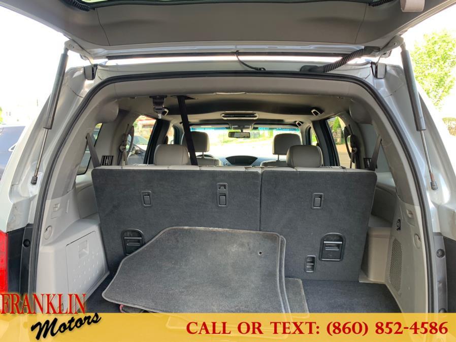 Used Honda Pilot 4WD 4dr EX-L w/RES 2011   Franklin Motors Auto Sales LLC. Hartford, Connecticut