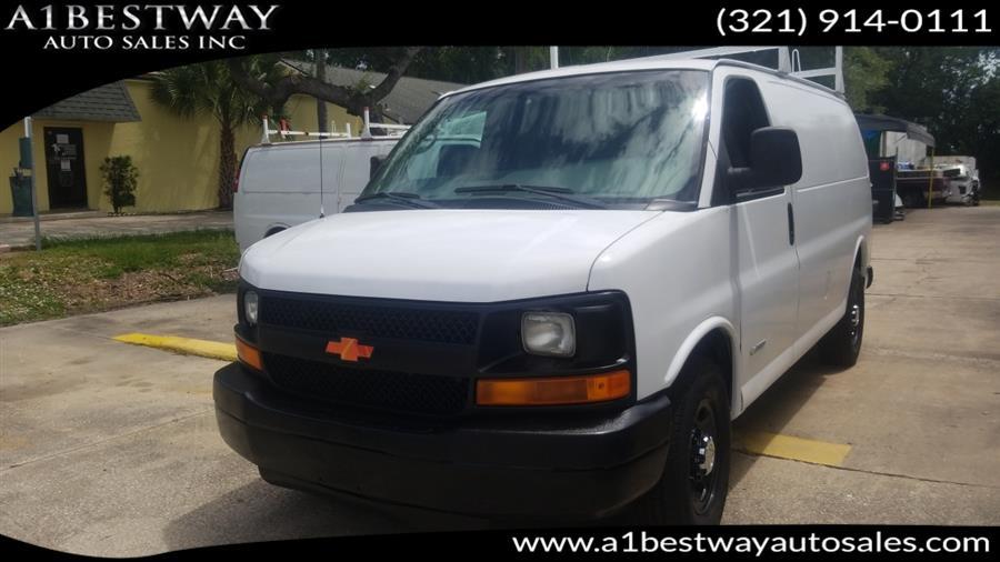 Used 2004 Chevrolet Express Cargo Van in Melbourne , Florida | A1 Bestway Auto Sales Inc.. Melbourne , Florida
