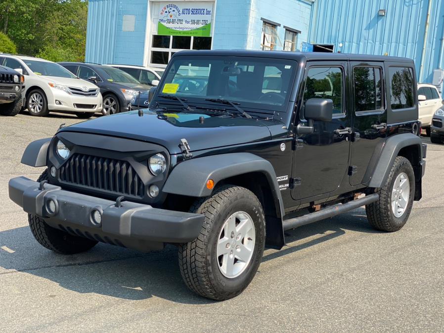Used 2015 Jeep Wrangler Unlimited in Ashland , Massachusetts | New Beginning Auto Service Inc . Ashland , Massachusetts