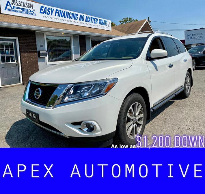 Used 2014 Nissan Pathfinder in Waterbury, Connecticut   Apex  Automotive. Waterbury, Connecticut