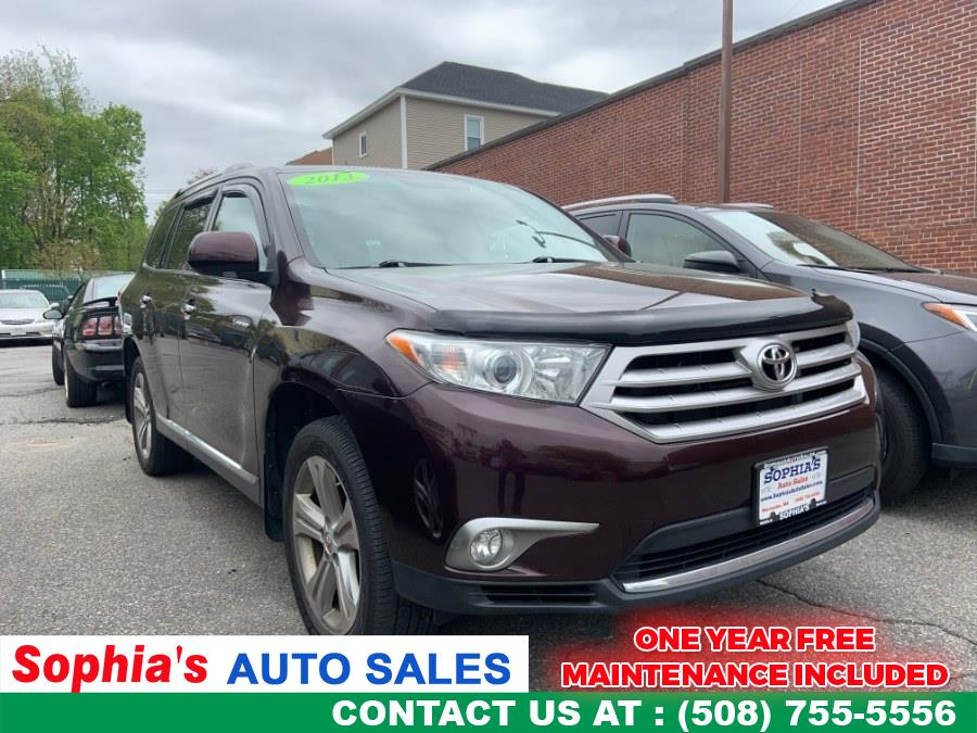 Used 2013 Toyota Highlander in Worcester, Massachusetts | Sophia's Auto Sales Inc. Worcester, Massachusetts