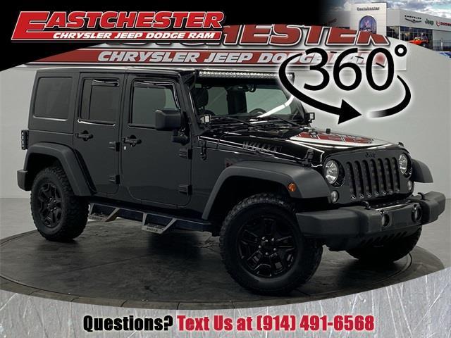 Used 2018 Jeep Wrangler Jk in Bronx, New York | Eastchester Motor Cars. Bronx, New York