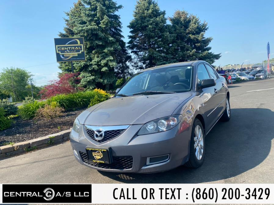 Used Mazda Mazda3 4dr Sdn Auto i Sport 2008 | Central A/S LLC. East Windsor, Connecticut