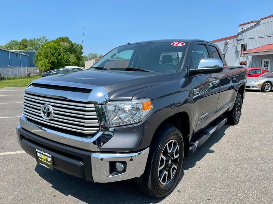 Used Toyota Tundra 4WD Truck Double Cab 5.7L V8 6-Spd AT LTD (Natl) 2016 | Mike And Tony Auto Sales, Inc. South Windsor, Connecticut