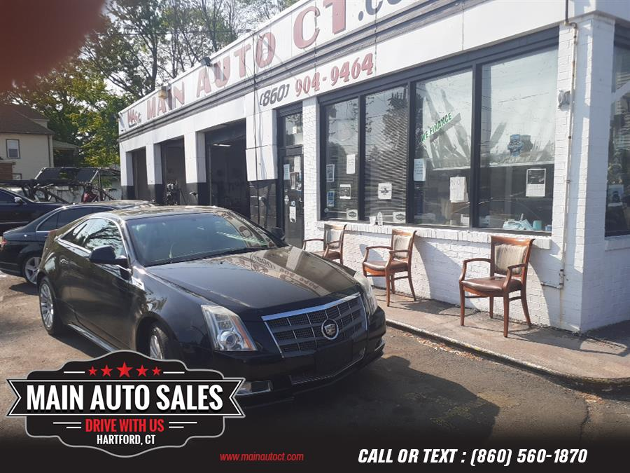 Used Cadillac CTS Coupe 2dr Cpe Premium AWD 2011 | Main Auto Sales LLC. Hartford, Connecticut