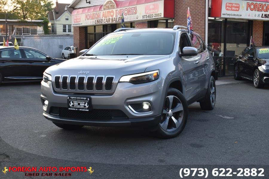 Used 2019 Jeep Cherokee in Irvington, New Jersey   Foreign Auto Imports. Irvington, New Jersey
