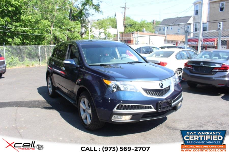 Used 2011 Acura MDX Tech Pkg in Paterson, New Jersey | Xcell Motors LLC. Paterson, New Jersey