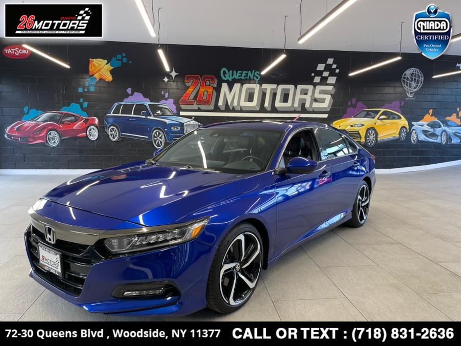 Used 2018 Honda Accord Sedan in Woodside, New York | 26 Motors Queens. Woodside, New York