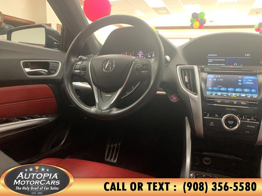 Used Acura TLX 3.5L FWD w/A-Spec Pkg Red Leather 2019 | Autopia Motorcars Inc. Union, New Jersey
