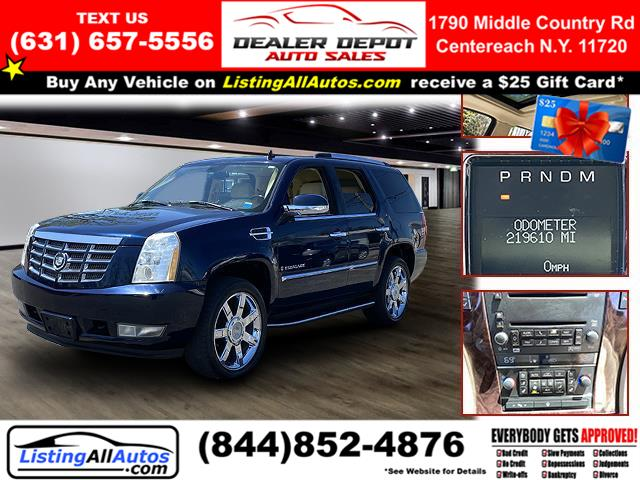 Used 2007 Cadillac Escalade in Patchogue, New York | www.ListingAllAutos.com. Patchogue, New York