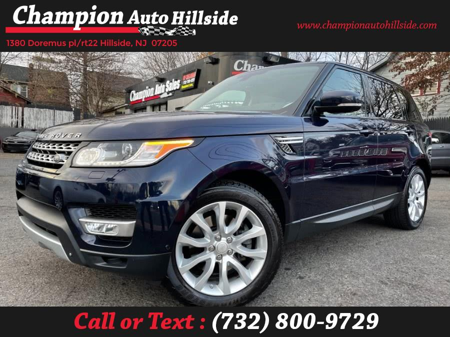 Used 2014 Land Rover Range Rover Sport in Hillside, New Jersey | Champion Auto Sales. Hillside, New Jersey