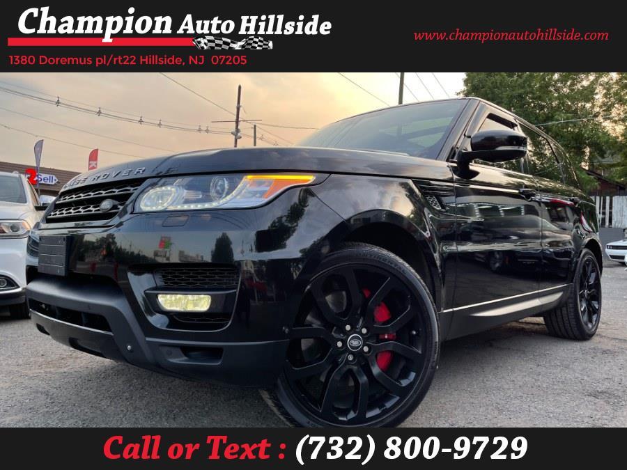 Used 2015 Land Rover Range Rover Sport in Hillside, New Jersey | Champion Auto Hillside. Hillside, New Jersey