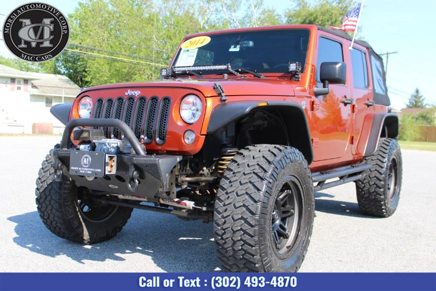 Used Jeep Wrangler Unlimited 4WD 4dr Sport 2014   Morsi Automotive Corp. New Castle, Delaware