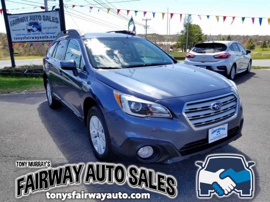 Used 2017 Subaru Outback in Hancock, Maine   Fairway Auto Sales. Hancock, Maine