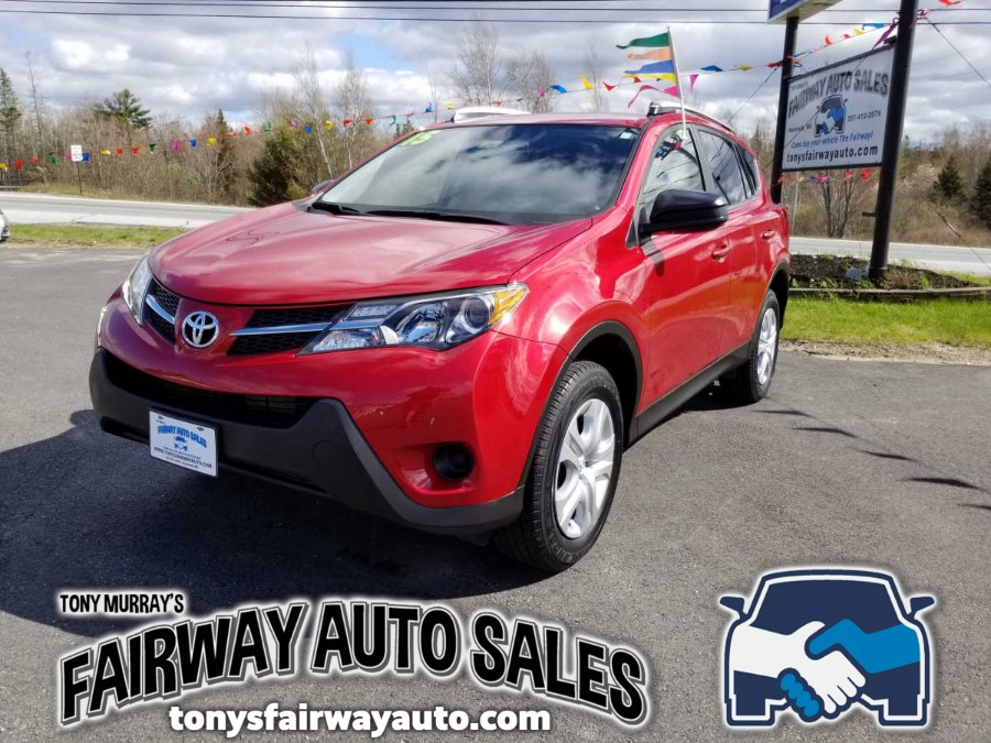 Used Toyota RAV4 AWD 4dr LE (Natl) 2015 | Fairway Auto Sales. Hancock, Maine