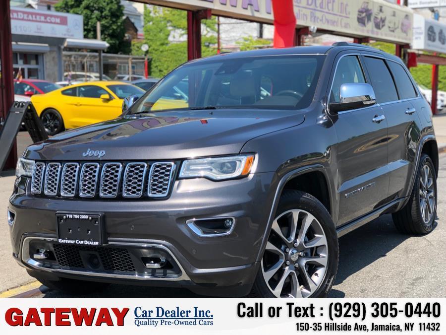 Used Jeep Grand Cherokee Overland 4x4 2018   Gateway Car Dealer Inc. Jamaica, New York