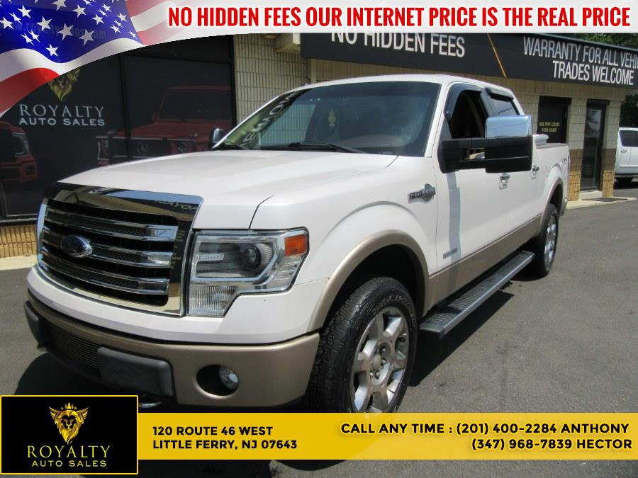 """Used Ford F-150 4WD SuperCrew 145"""" King Ranch 2014 