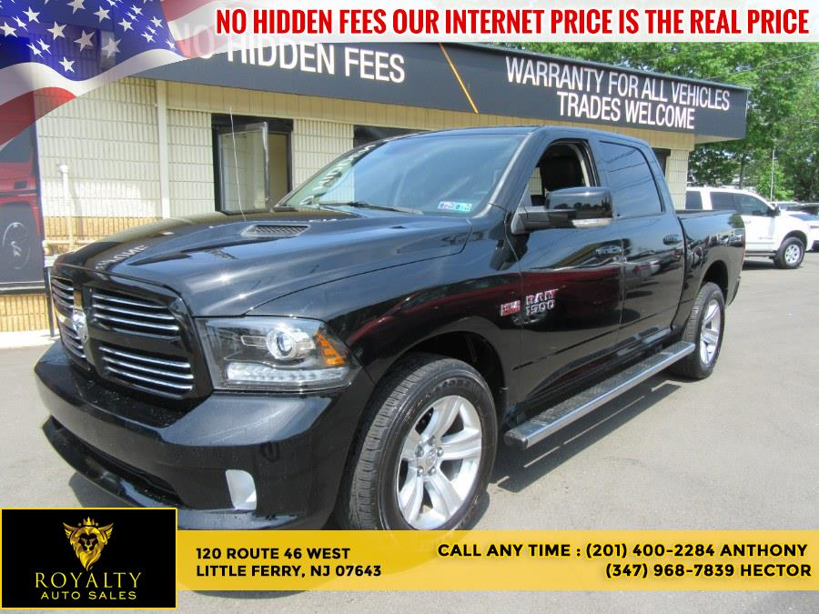 """Used Ram 1500 4WD Crew Cab 140.5"""" Sport 2014   Royalty Auto Sales. Little Ferry, New Jersey"""