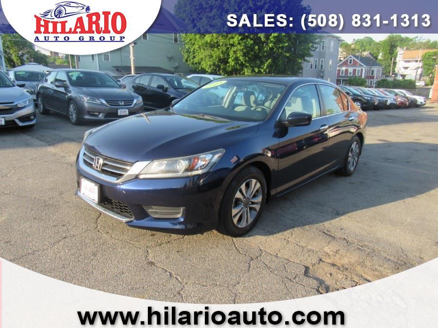 Used 2013 Honda Accord Sedan in Worcester, Massachusetts | Hilario's Auto Sales Inc.. Worcester, Massachusetts