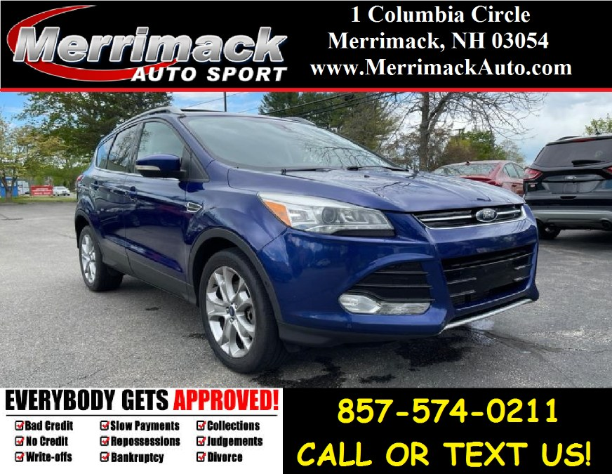 Used 2015 Ford Escape in Merrimack, New Hampshire | Merrimack Autosport. Merrimack, New Hampshire