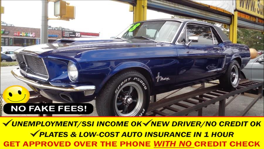 Used 1968 Ford Mustang in Rosedale, New York | Sunrise Auto Sales. Rosedale, New York