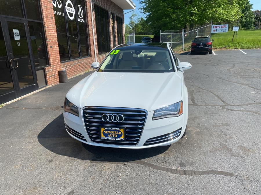 Used 2013 Audi A8 L in Middletown, Connecticut | Newfield Auto Sales. Middletown, Connecticut