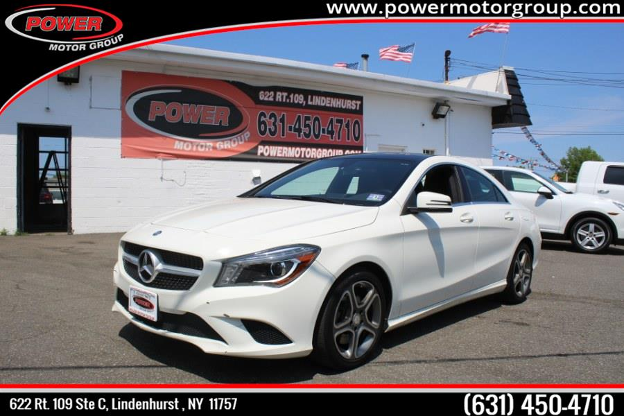 Used Mercedes-Benz CLA-Class 4dr Sdn CLA 250 4MATIC 2014 | Power Motor Group. Lindenhurst, New York