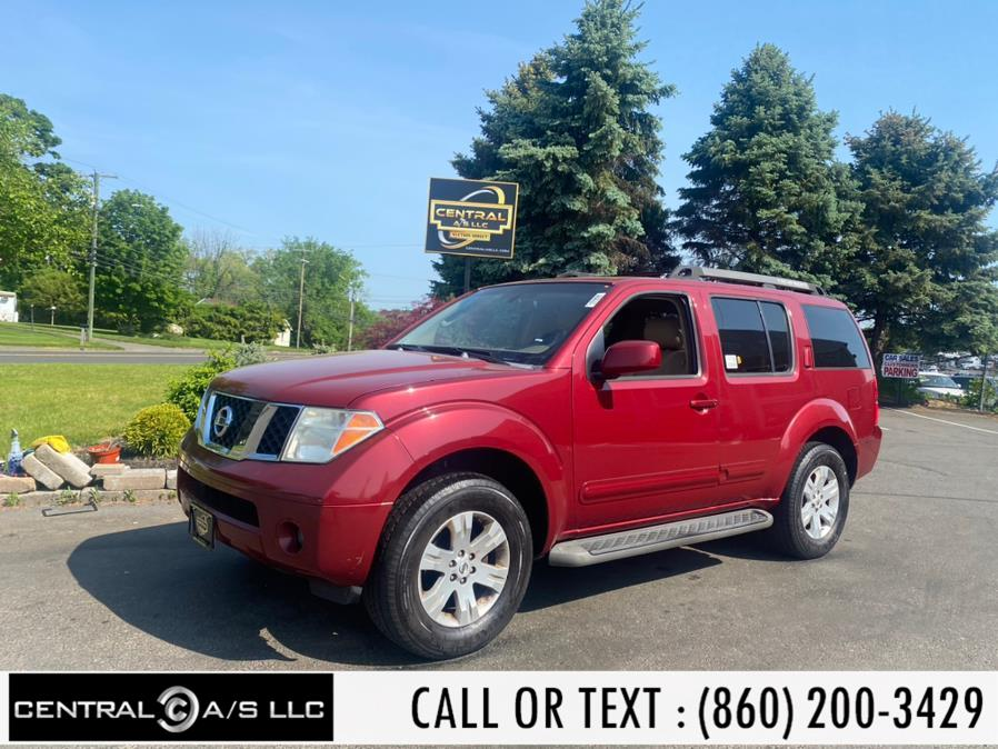 Used Nissan Pathfinder 4WD 4dr S 2007 | Central A/S LLC. East Windsor, Connecticut