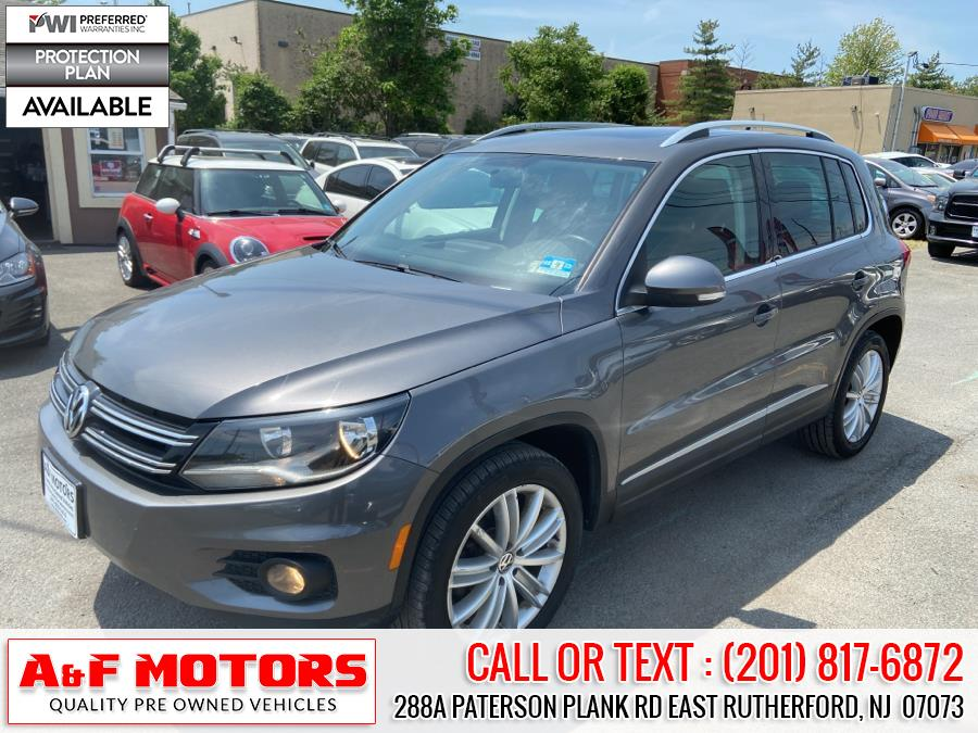 Used Volkswagen Tiguan 4WD 4dr Auto SE w/Sunroof & Nav 2012 | A&F Motors LLC. East Rutherford, New Jersey