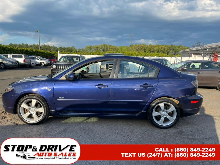 Used Mazda Mazda3 4dr Sdn s Touring Manual 2006   Stop & Drive Auto Sales. East Windsor, Connecticut