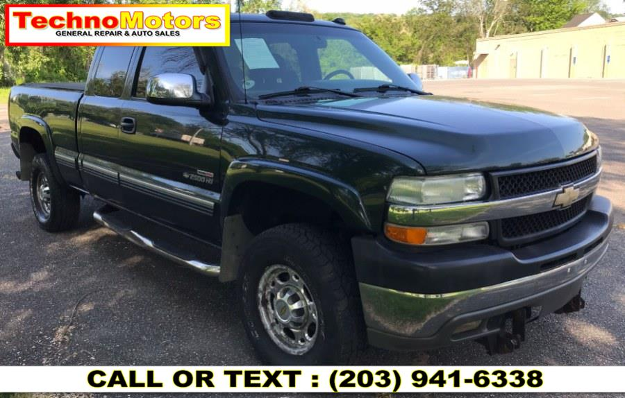 "Used Chevrolet Silverado 2500HD Ext Cab 143.5"" WB 4WD LT 2001 | Techno Motors . Danbury , Connecticut"