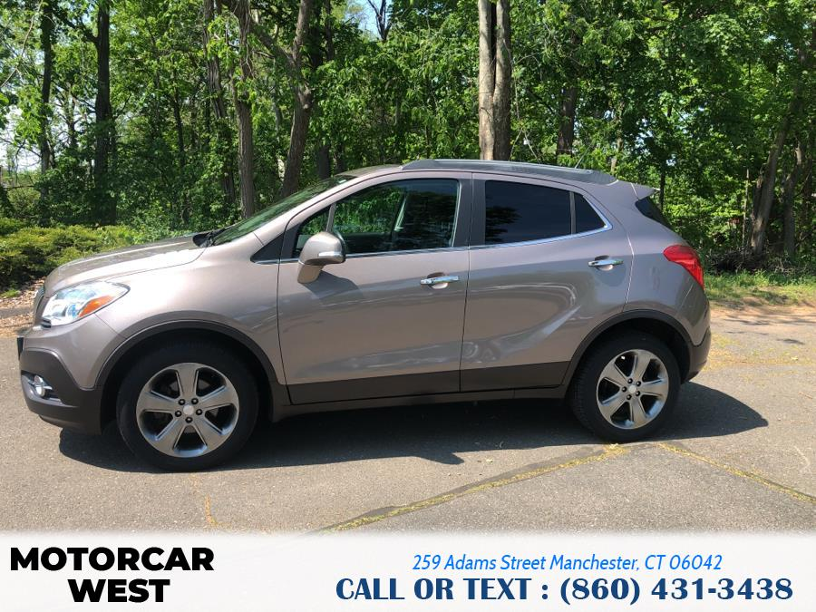 Used Buick Encore AWD 4dr Leather 2014 | Motorcar West. Manchester, Connecticut
