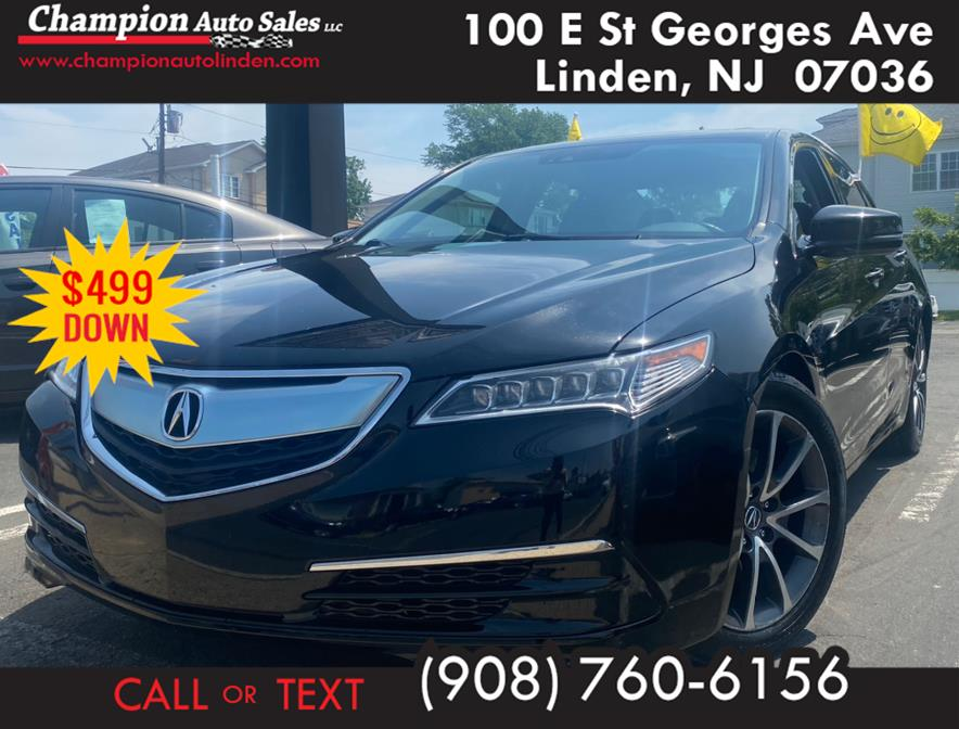 Used 2016 Acura TLX in Linden, New Jersey | Champion Auto Sales. Linden, New Jersey