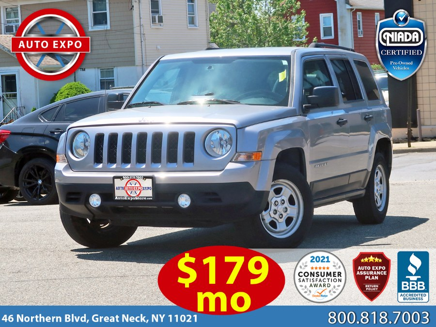 Used 2017 Jeep Patriot in Great Neck, New York | Auto Expo Ent Inc.. Great Neck, New York