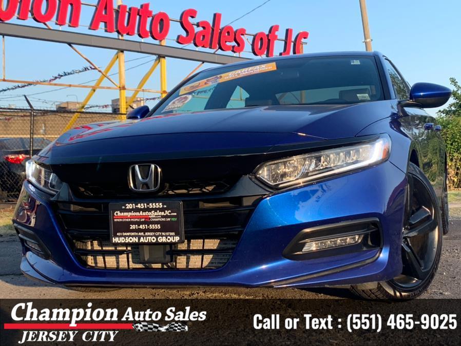 Used Honda Accord Sedan Sport 1.5T CVT 2018 | Champion Auto Sales of JC. Jersey City, New Jersey