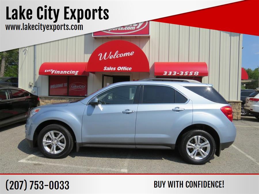 Used Chevrolet Equinox LT AWD 4dr SUV w/2LT 2014 | Lake City Exports Inc. Auburn, Maine